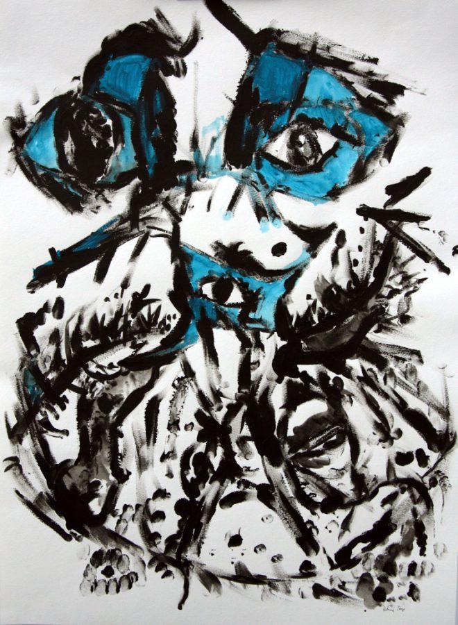 shaman-series-no-7  84 x 59 cm